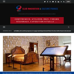 [Visite CLIC] 3 nouveaux outils numériques viennent enrichir la médiation et faciliter la découverte de la collection du musée des arts décoratifs