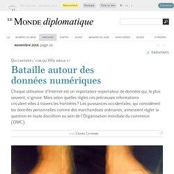 Bataille autour des données numériques, par Cédric Leterme (Le Monde diplomatique, novembre 2019)