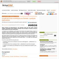 Le prêt de livres numériques au Canada : quelques explications