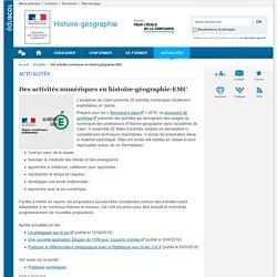 Des activités numériques en histoire-géographie-EMC-Histoire-géographie-Éduscol