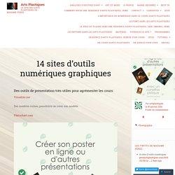 14 sites d'outils numériques graphiques – Arts Plastiques