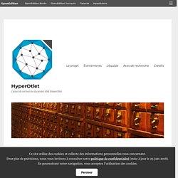 Lundis numériques de l'INHA – Paul Otlet, un héritier des Lumières au tournant du XXe siècle, à l'aube de la société de l'information – HyperOtlet