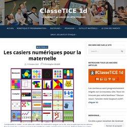Les casiers numériques pour la maternelle – ClasseTICE 1d