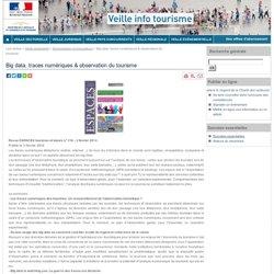 Gp1 : Big data, traces numériques & observation du tourisme
