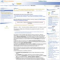 Plus-values des outils numériques : mise en place de la phonétique corrective. Niveaux 4ème/3ème- Espagnol
