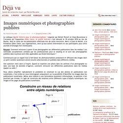Images numériques et photographies publiées