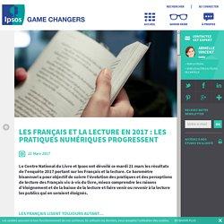Les Français et la lecture en 2017 : les pratiques numériques progressent