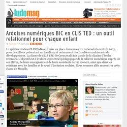Ardoises numériques BIC en CLIS TED : un outil relationnel pour chaque enfant
