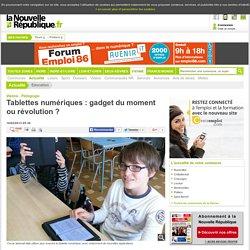 Tablettes numériques : gadget du moment ou révolution ? - 16/02/2013