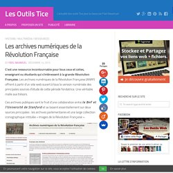 Les archives numériques de la Révolution Française