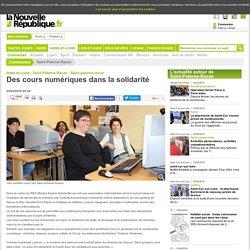 Des cours numériques dans la solidarité - 25/03/2016, Saint-Paterne-Racan (37)