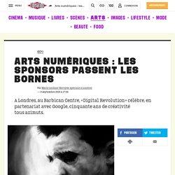 Arts numériques: les sponsors passent les bornes