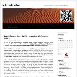 Les outils numériques du CDI : un système d'information intégré