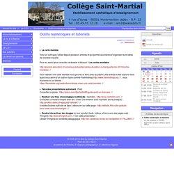 Outils numériques et tutoriels - Site du collège Saint Martial