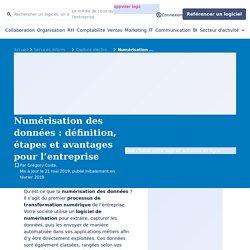 Numérisation des données ▷ définition, étapes, avantage, logiciel