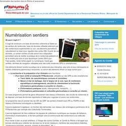 Numérisation sentiers - Bienvenue sur le site officiel du Comité Départemental de la Randonnée Pédestre Rhône - Métropole de Lyon