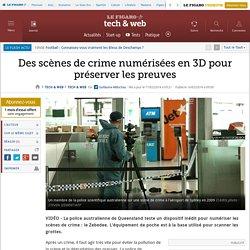 Des scènes de crime numérisées en 3D pour préserver les preuves