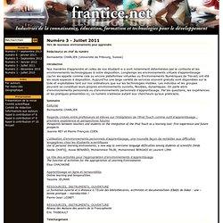Numéro 3 - Juillet 2011 - frantice.net