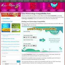 Love Numerology Compatibility Test | Numerology based Love Compatibility