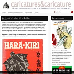 Les 15 numéros 1 de Hara-kiri, par Cyril Bosc -