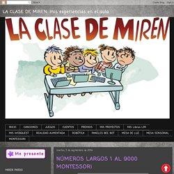 NÚMEROS LARGOS 1 AL 9000 MONTESSORI