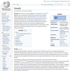NumPy - Wikipedia