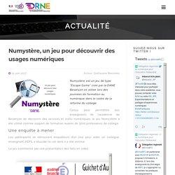 """Numystère, un jeu """"Escape Game"""" pour découvrir des usages numériques"""