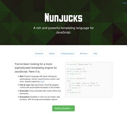 Nunjucks