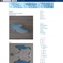Free Stuffed Dolphin Pattern