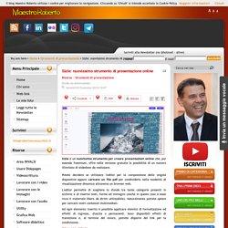 Sizle: nuovissimo strumento di presentazione online