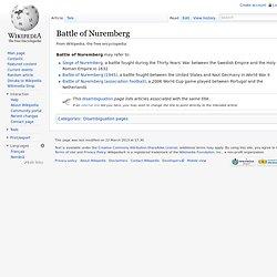 Battle of Nuremberg
