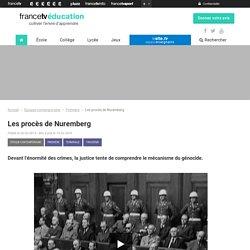 Les procès de Nuremberg - Francetv Éducation