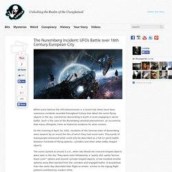 The Nuremberg Incident: UFOs Battle over 16th Century European City