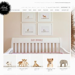 Baby Animals - The Animal Print Shop - Sharon Montrose - Nursery Art-Gift Ideas - Wall Decor - Nursery Decor - Modern Art - Affordable Art - Fine Art Photography - Baby Shower Gifts - Baby Shower Favors