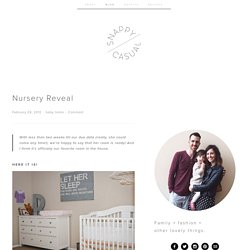 Nursery Reveal | Words of Williams