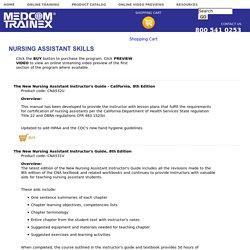Nursing Assistant Skills