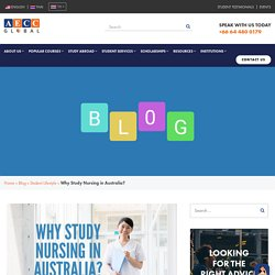 Why Study Nursing In Australia