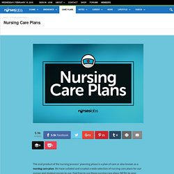 Nursing Care Plans - Nurseslabs