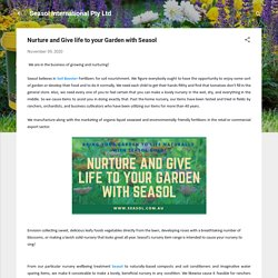 Nurture and Give life to your Garden with Seasol
