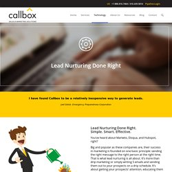Lead Nurturing Done Right - B2B Lead Generation Company Malaysia