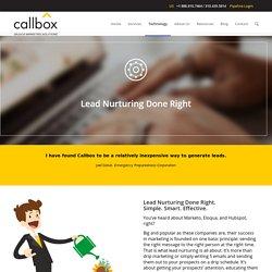 Lead Nurturing Done Right - B2B Lead Generation Company Malaysia