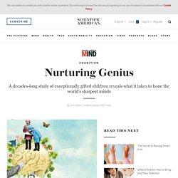 Nurturing Genius