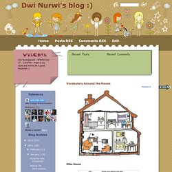 Dwi Nurwi's blog :): Vocabulary Around the House