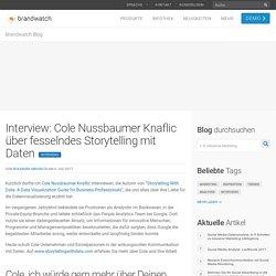 Interview: Cole Nussbaumer Knaflic über fesselndes Storytelling mit Daten