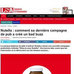Nutella : comment sa dernière campagne de pub...