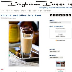 Nutella embodied in a Shot