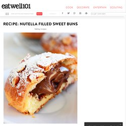 Nutella Filled Sweet Buns Recipe