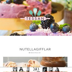 Nutellagifflar – Tessan Bakar