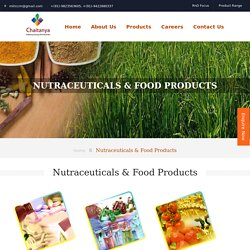 Nutraceutical Manufacturers in India