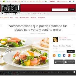 Directo al Paladar - Nutricosméticos que puedes sumar a tus platos para verte y sentirte mejor